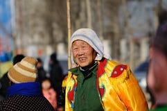 De viering van het Festival van de lantaarn Stock Afbeelding