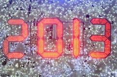 De Viering van het nieuwjaar 2013 Stock Foto's