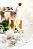 De Viering van het nieuwjaar Stock Foto