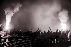 de Viering van de het 92ste Jaarverjaardag van Goztepe-Sportclub Royalty-vrije Stock Fotografie