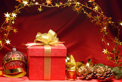 De viering van Kerstmis Stock Foto's
