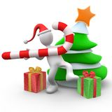 De Viering van Kerstmis Stock Afbeelding