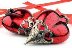 De Viering van Kerstmis van liefde. Stock Fotografie