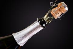 De vieringen van Champagne Stock Foto