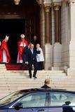 """De Vieringen van heilige Devota in Monaco †""""2015 royalty-vrije stock afbeelding"""