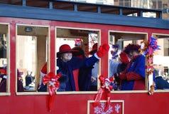 De vieringen van Kerstmis Royalty-vrije Stock Afbeelding