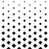 De vierkante achtergrond van het patroonontwerp in Zwart-wit Stock Fotografie