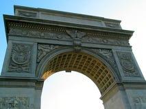 De Vierkante Boog van Washington, van onderaan Royalty-vrije Stock Foto