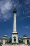 De Vierkante centrale kolom van helden Stock Foto's