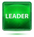 De Vierkante Knoop van leidersneon light green vector illustratie
