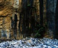 De vierkante levendige textuur van de natuursteenrots Royalty-vrije Stock Afbeelding