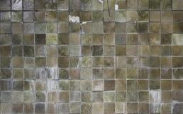 De vierkante texturen van de cementmuur Stock Fotografie
