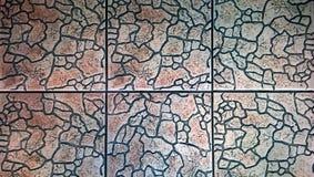 De vierkante vloer Stock Afbeeldingen
