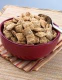 De Vierkanten van de tarwe voor Ontbijt stock afbeeldingen