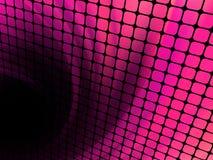 De vierkanten van de technologie met groene gloeduitbarsting. EPS 8 Royalty-vrije Stock Afbeelding