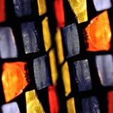 De vierkanten van het gebrandschilderd glas royalty-vrije stock afbeeldingen