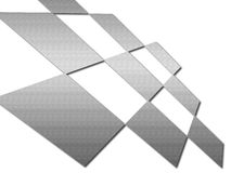 De vierkantensamenvatting van het metaal Royalty-vrije Stock Fotografie