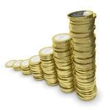 De vierkantige Groei Royalty-vrije Stock Afbeeldingen