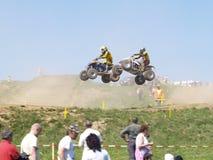 De vierlingen van Moto Stock Afbeelding