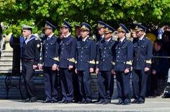 De Vietnamese kadetten van de Marine Royalty-vrije Stock Foto