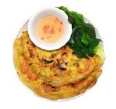 Vietnamese pannekoek stock foto's