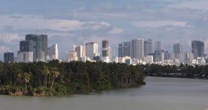 De Vietnamese stad van Nha Trang stock footage