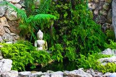 De Vijver van Buddah Stock Afbeeldingen