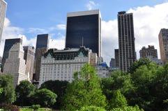 De vijver van het Central Park   Royalty-vrije Stock Afbeeldingen