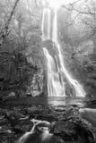 De Vilagocende-waterval, in Fonsagrada Royalty-vrije Stock Afbeelding