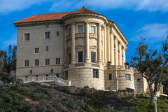 De villa Getty royalty-vrije stock afbeelding