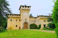 De Villa Medici van Cafaggiolo stock fotografie