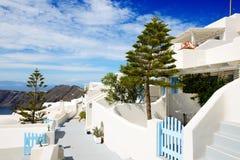 De villa's bij luxehotel Stock Foto's