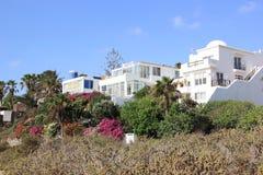 De villa's van de luxe beachfront vakantie. Royalty-vrije Stock Fotografie