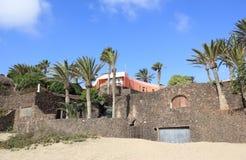 De villa's van de luxe beachfront vakantie. Royalty-vrije Stock Afbeeldingen