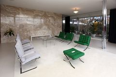 De villa Tugendhat is open Royalty-vrije Stock Fotografie