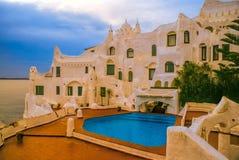 De villa van Carlos Paez Villaro royalty-vrije stock fotografie