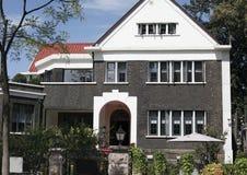 De villa van de tuin Stock Afbeelding