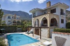 De Villa van de vakantie Stock Afbeelding