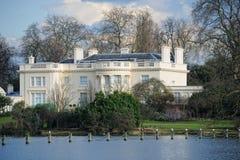 De villa van het regentaat, het Park van de Regent, Londen, Engeland, het UK Royalty-vrije Stock Afbeeldingen