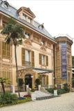 De Villa van Nobel Stock Fotografie
