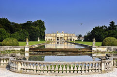 De Villa van Palladian Royalty-vrije Stock Afbeelding