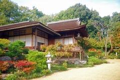 De Villa van Sanso van Okochi, Kyoto, Japan Stock Foto