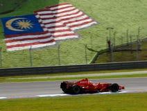 De Vin van Ferrari Marlboro F2007 Kimi Raikkonen van Scuderia royalty-vrije stock afbeeldingen