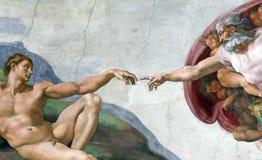 De vinger van de god Royalty-vrije Stock Fotografie
