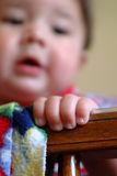 De Vingers van de baby Stock Foto