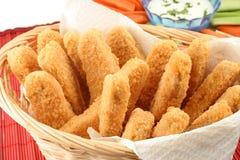 De vingers van de kip Stock Afbeelding