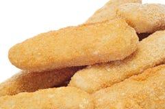De vingers van de kip Stock Foto
