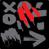 De vingers van Grunge Royalty-vrije Stock Foto