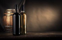 De vinho da fatura vida ainda Imagens de Stock Royalty Free