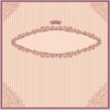 De violette achtergrond van de banner uitstekende luxe Royalty-vrije Stock Afbeelding